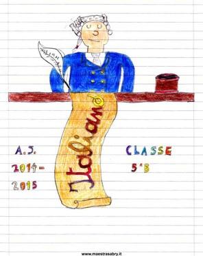 Famoso Quaderni di italiano classe quinta - MaestraSabry WQ55