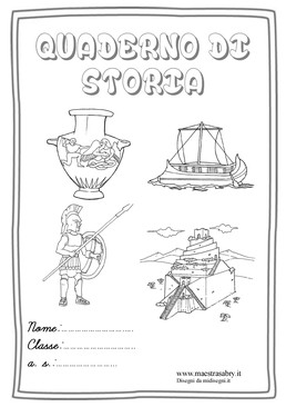 Extrêmement Copertine per quaderni - MaestraSabry UR16