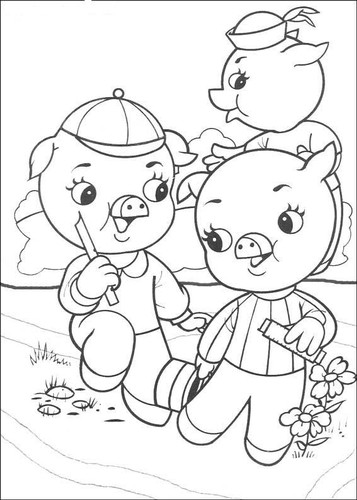 Disegni i tre porcellini maestrasabry Coloring book album download
