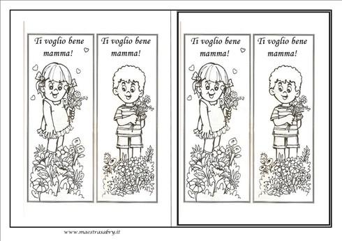 Biglietti E Lavoretti Festa Della Mamma Maestrasabry