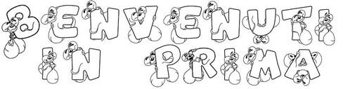 Accoglienza per la scuola primaria e la scuola dell for Cartelli per la porta dell aula da stampare